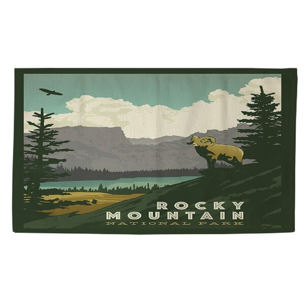 Rocky Mountain National Park Area Rug by Manual Woodworkers & Weavers