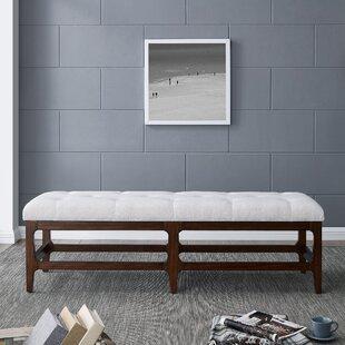 Shop For Kya Upholstered Bench ByAlcott Hill