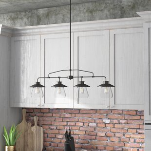 de long 4 light kitchen island pendant - Kitchen Island Lighting