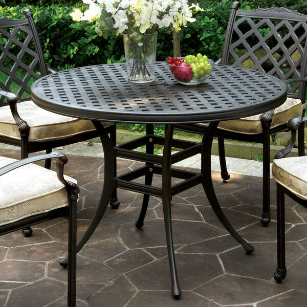 Kipling Metal Dining Table By Darby Home Co