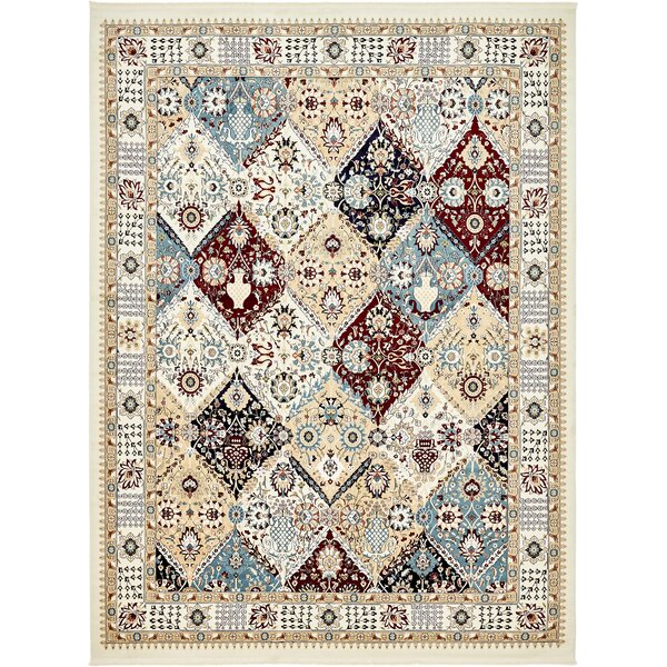 Rupe Ivory Area Rug by World Menagerie