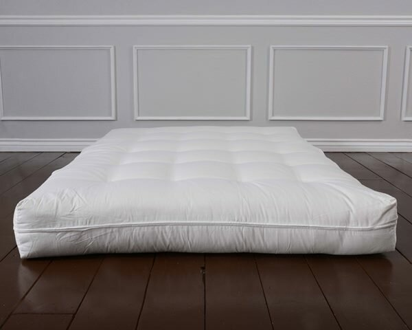 Genest Sublime Natural 8 Latex Core Futon Mattress by Alwyn Home