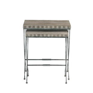 Wyman 2 Piece Nesting Tables