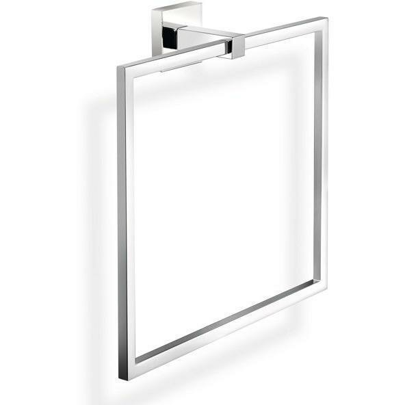 Strong Wall Square Towel Ring by AGM Home Store