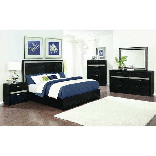 Darrah Standard Configurable Bedroom Set by Everly Quinn