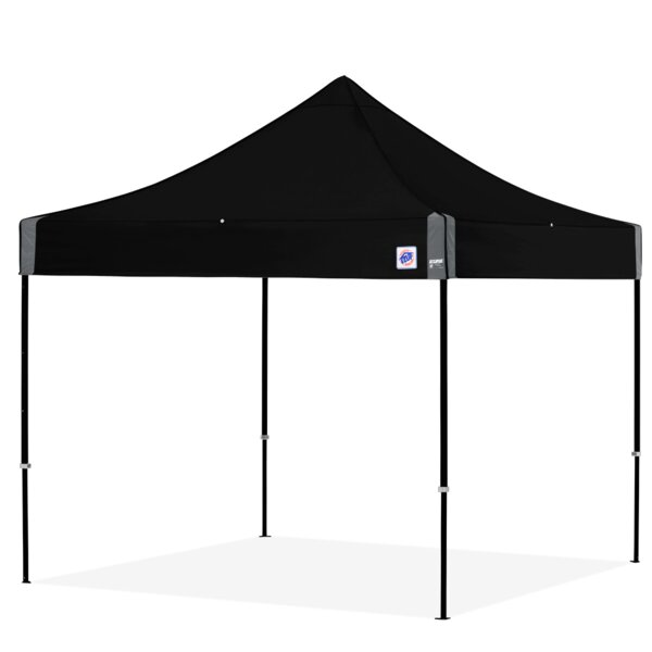 Eclipse 10 Ft. W x 10 Ft. D Steel Pop-Up Canopy by E-Z UP