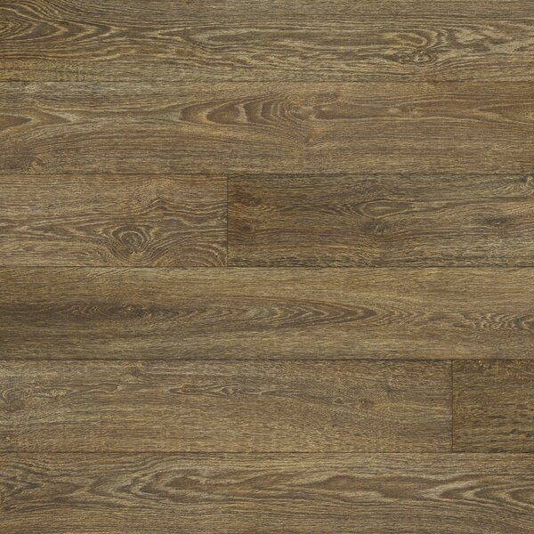 Restoration 6'' x 51'' x 12mm Oak Laminate Flooring in Stained by Mannington