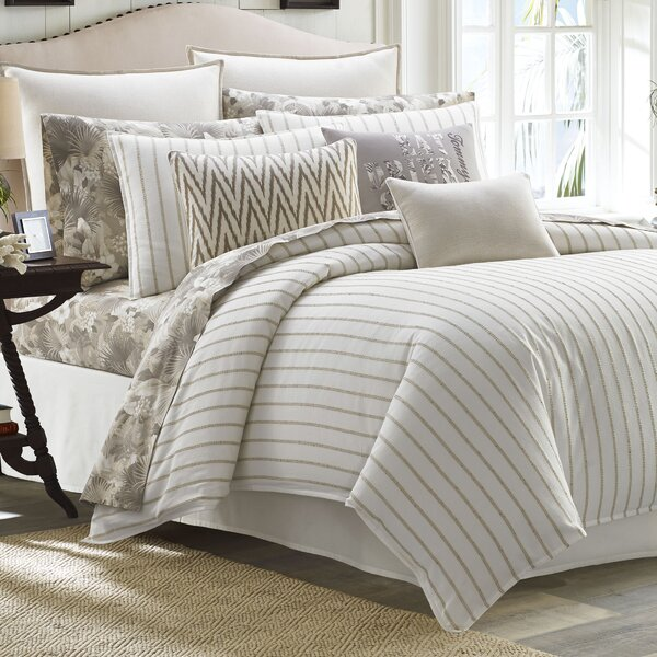 Sandy Coast 3 Piece Duvet Cover Set by Tommy Bahama Home