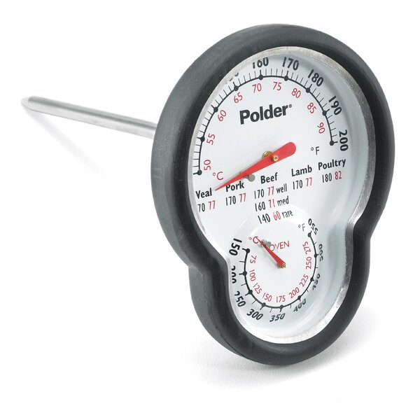 Dual Oven / Meat Thermometer by Polder Products LLC