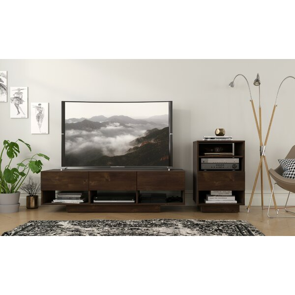 Chesler Audio Tower Entertainment Center by Latitude Run