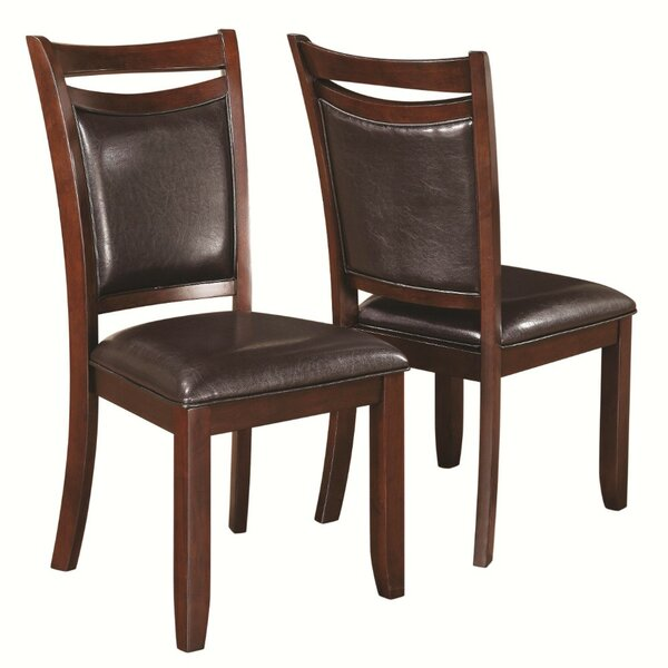 Waltrip Upholstered Dining Chair (Set of 2) by Millwood Pines