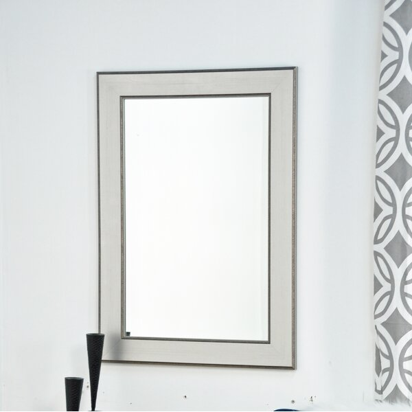 Traditional Silver Entry Way Wall Mirror by Brandt Works LLC