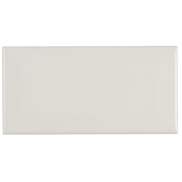 Guilford 3 x 6 Ceramic Subway Tile in Biscuit by Itona Tile
