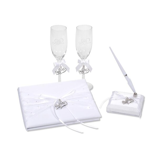Elizabeth Street 4 Piece Guest Book Set by The Holiday Aisle
