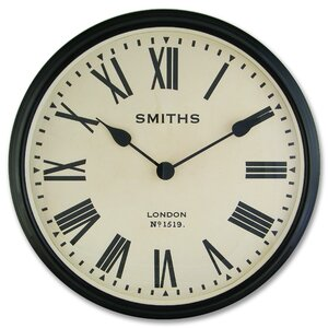 Smiths 50cm Wall Clock