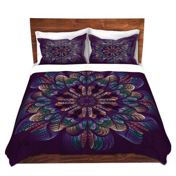 Quilted Flower Duvet Cover Set