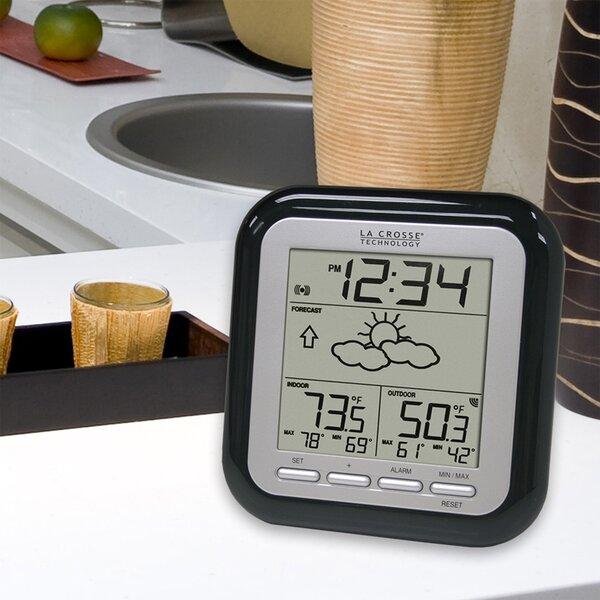 Wireless Forecast Station in Black by La Crosse Technology