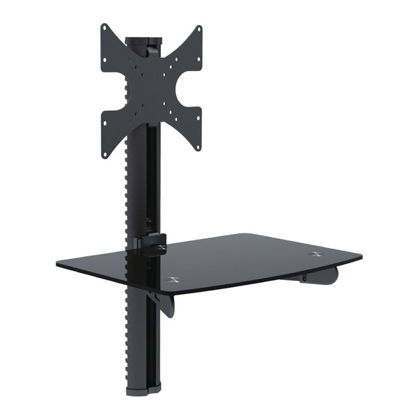 Tygerclaw Single AV Universal Wall Mount for 23-42 Flat Panel Screen by Homevision Technology