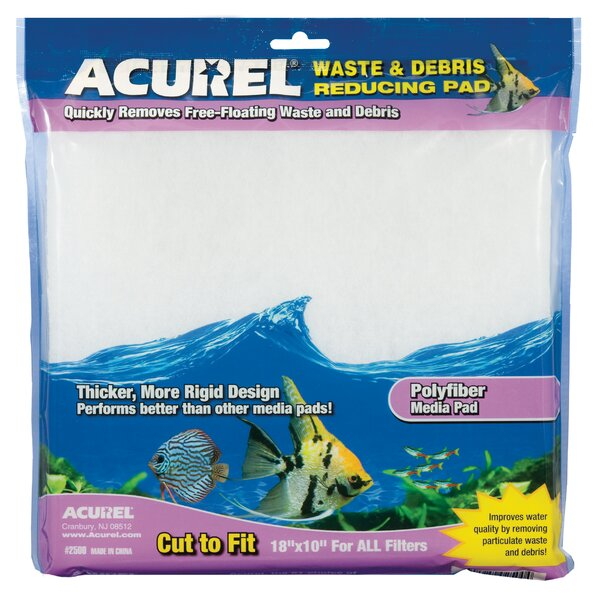 Poly Fiber Media Aquarium Filter Pad by Acurel