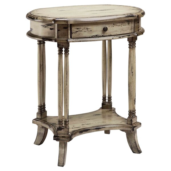 Ralphio End Table By World Menagerie