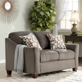 Olivia Chenile 60 Flared Arms Loveseat by Darby Home Co