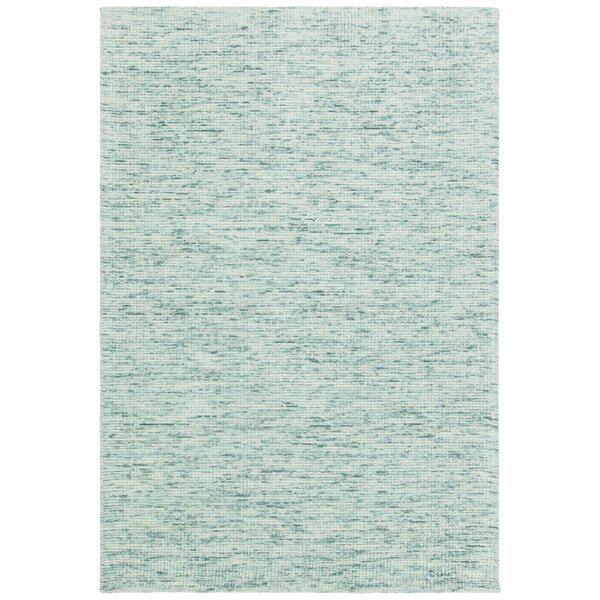 Cunningham Hand-Woven Green Area Rug by Rosecliff Heights