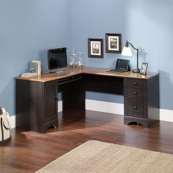Pinellas Computer Desk with Keyboard Tray by Beachcrest Home