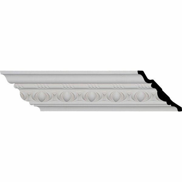 Jackson Egg and Dart 4 3/4H x 94 3/8W x 4 3/4D Crown Moulding by Ekena Millwork