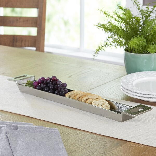 Creek Rectangle Handled Platter by Birch Lane™