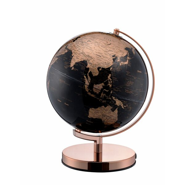 Metal Frame Globe by Everly Quinn
