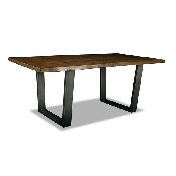 Bullen Solid Wood Dining Table by Union Rustic