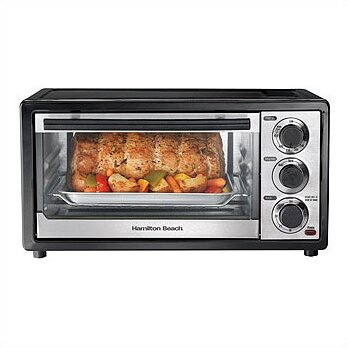 6 Slice Toaster Oven by Hamilton Beach