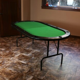 Compare & Buy 81.75 8-Player Folding Poker Table ByWildon Home ®
