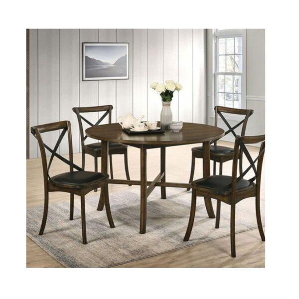 Torrence Placer 5 Piece Round Dining Set by Gracie Oaks Gracie Oaks
