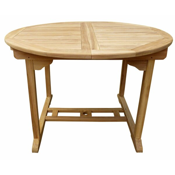 Cosper Wooden Dining Table by Highland Dunes