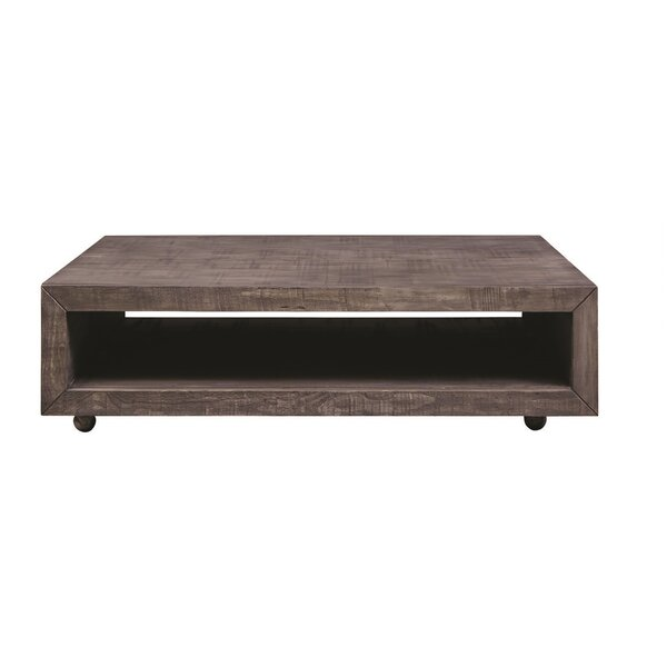 Balfour Square Coffee Table with Casters by 17 Stories
