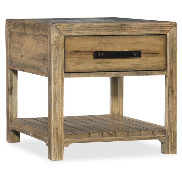 Roslyn County End Table With Storage By Hooker Furniture