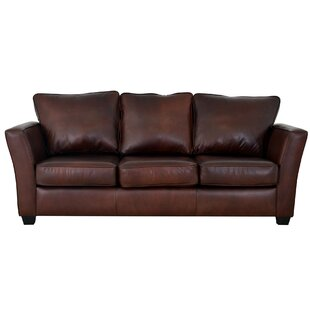 Bridgeport Genuine Top Grain Leather Sofa  by Westland and Birch