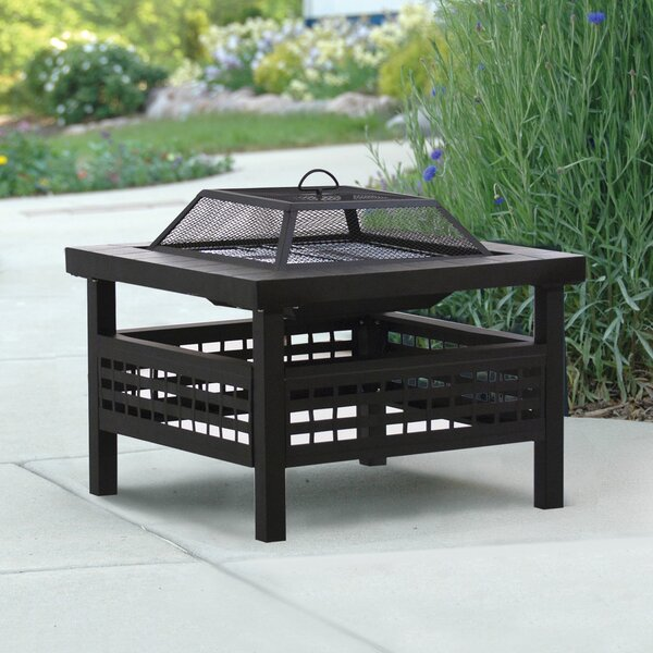 Sonoma Steel Wood Burning Fire Pit by DeckMate