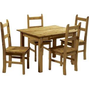 Essgruppe Equador mit 4 Stühlen von LPD