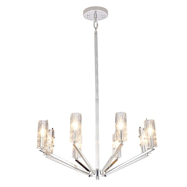 Benita 8-Light Shaded Classic / Traditional Chandelier By Everly Quinn
