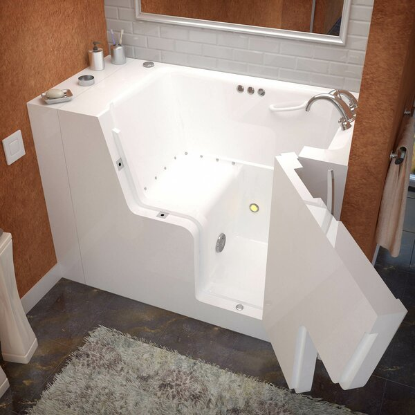 Mohave 53 x 29 Air & Whirlpool Jetted Wheelchair Accessible Bathtub by Therapeutic Tubs