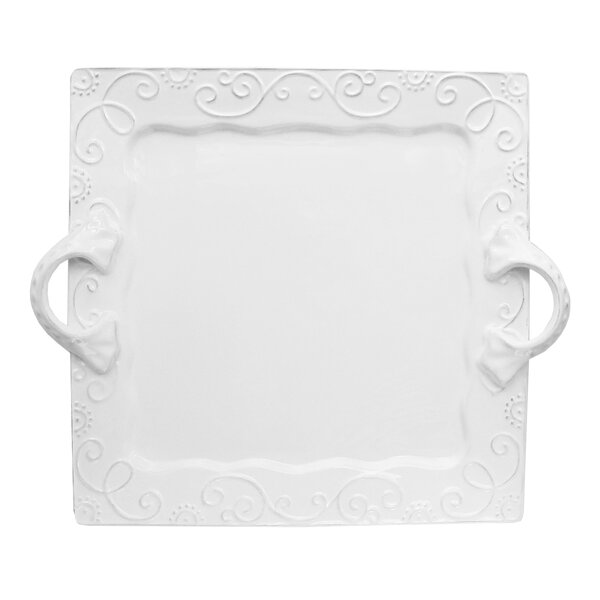 Mina Square Platter by Design Guild