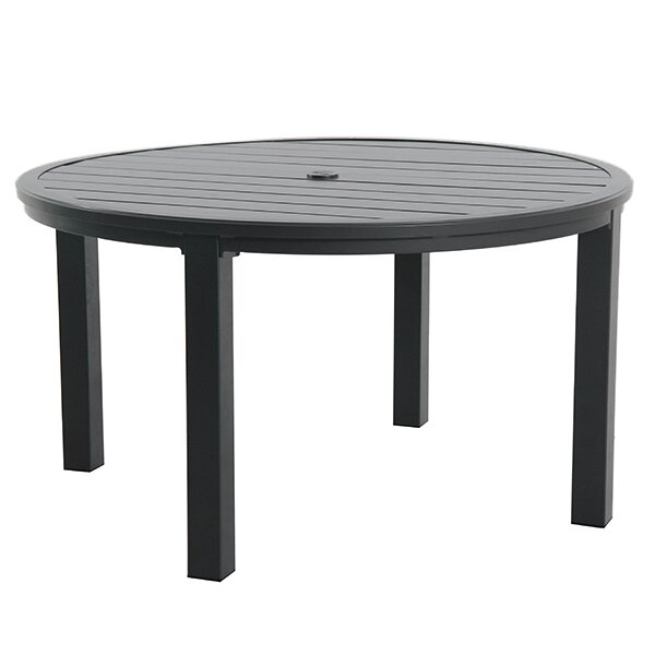 Round Slat Top Table by Royal Garden