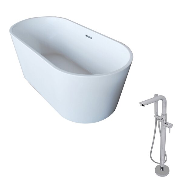 Dover 67 x 31.5 Freestanding Soaking Bathtub by ANZZI