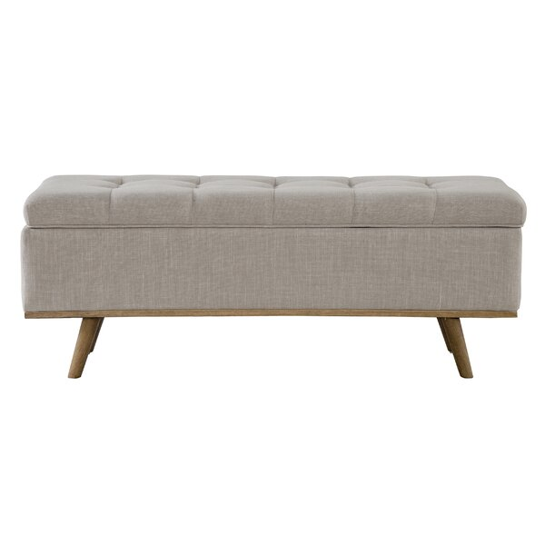 Valerio Upholstered Storage Entryway Bench by George Oliver