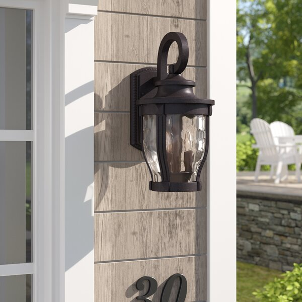 Urbanek 3-Light Outdoor Wall Lantern by Charlton Home