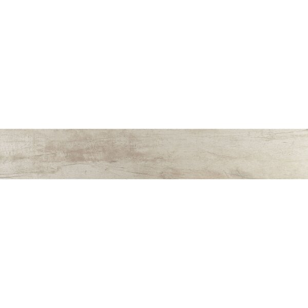 Season Wood 8 x 48 Porcelain Wood Look Tile in Snow Pine by Daltile