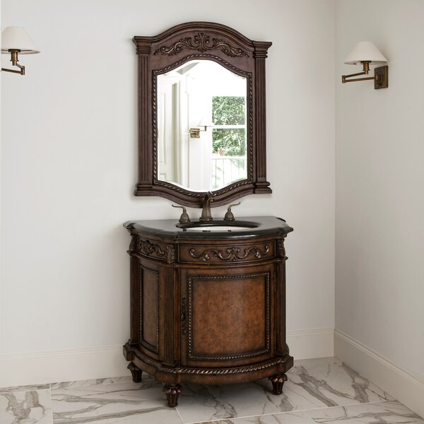 Cresent 36 Single Bathroom Vanity Set by Ambella Home Collection