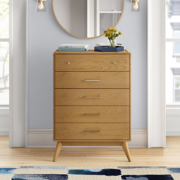 Aspen 5 Drawer Chest by Foundstone